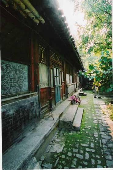 察院胡同23号,著名的诗词学家叶嘉莹的住宅被拆前